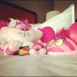 My mascots at the hotel