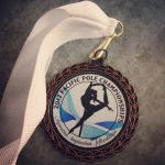 My 3rd Place Medal: Level 2 Artistic Dramatic