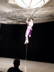 My climb on static pole, from fellow competitor Sayaha Aida