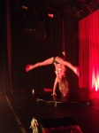Drea's one-arm-down handstand